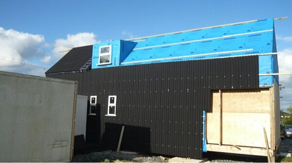 Moisture Barrier and Cladding Rear