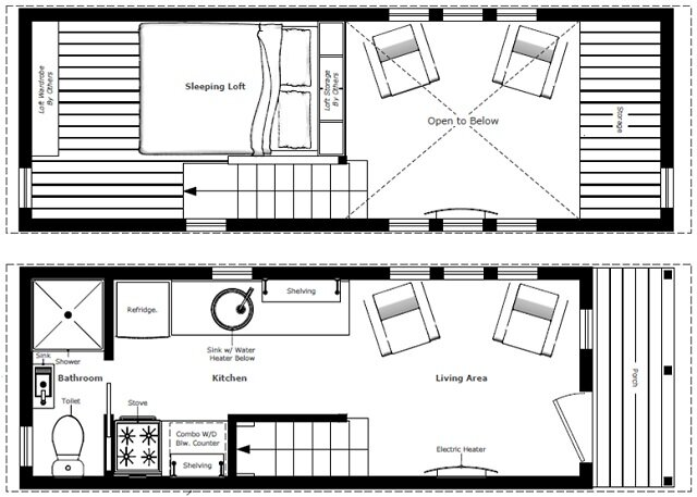 Custom McG Loft Floor Plan