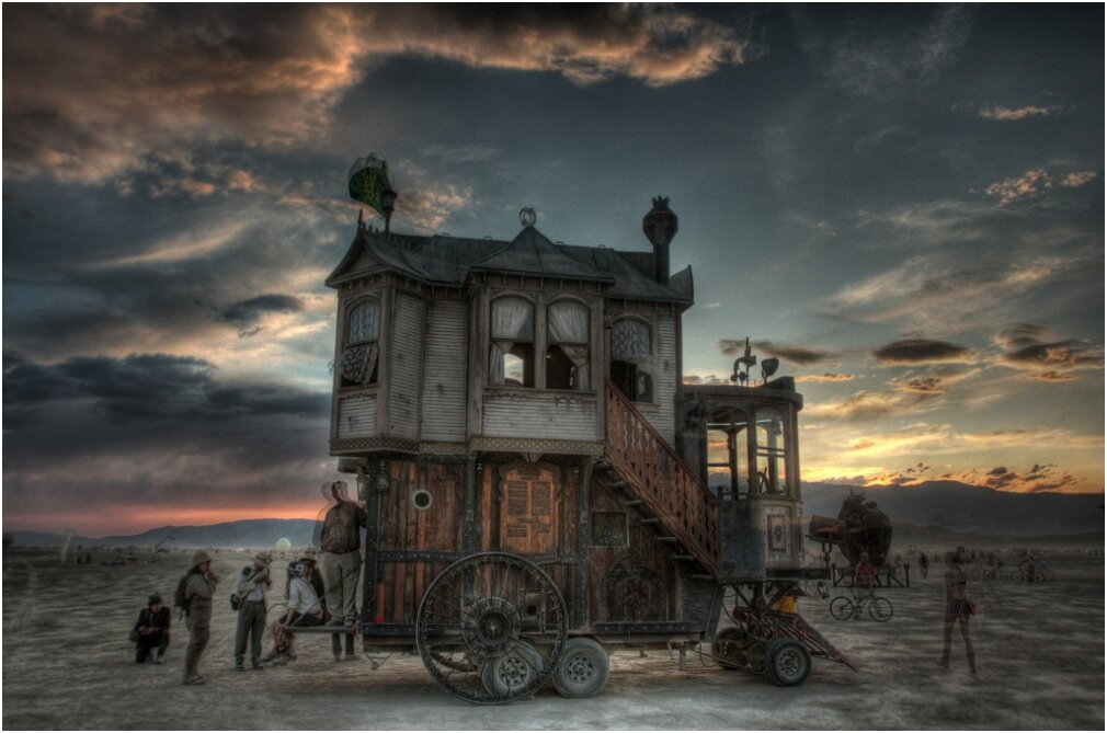 The Neverwas Haul A Steampunk Tiny House On Wheels