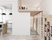 Small Apartment Maximises Usable Space
