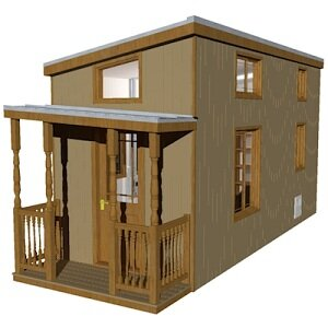 The Rooke Tiny House with Porch