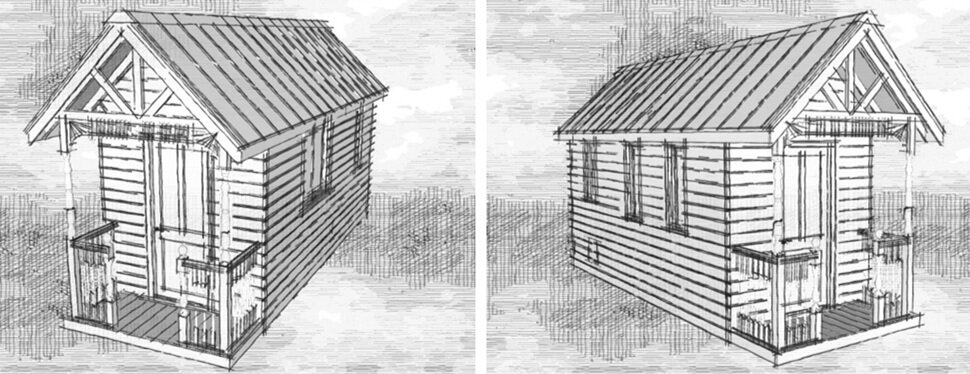 Tiny House Plans - Transformable Spaces