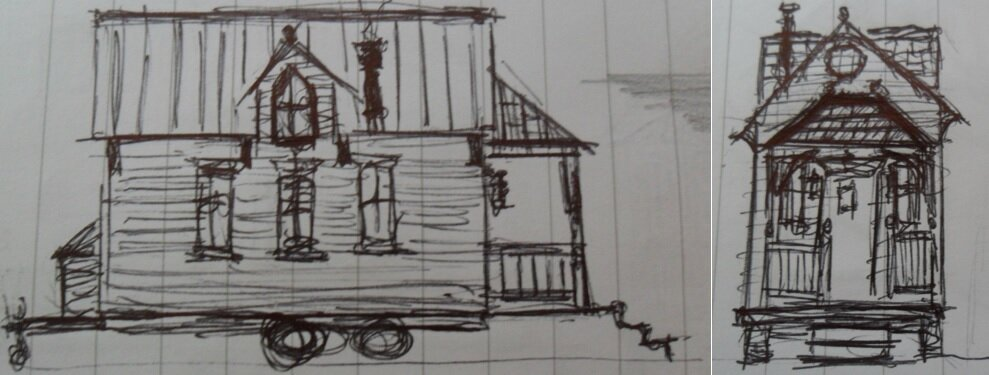 Tiny House Plans - Victorian-Style Tiny House