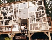 Nick Olson & Lilah Horwitz - Recycled Windows Home