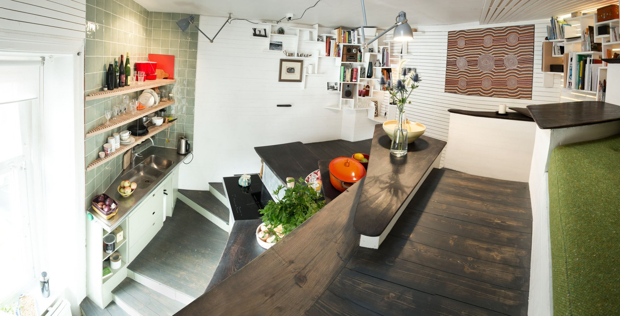 Tiny Apartment in Sweden by Torsten Ottesjö