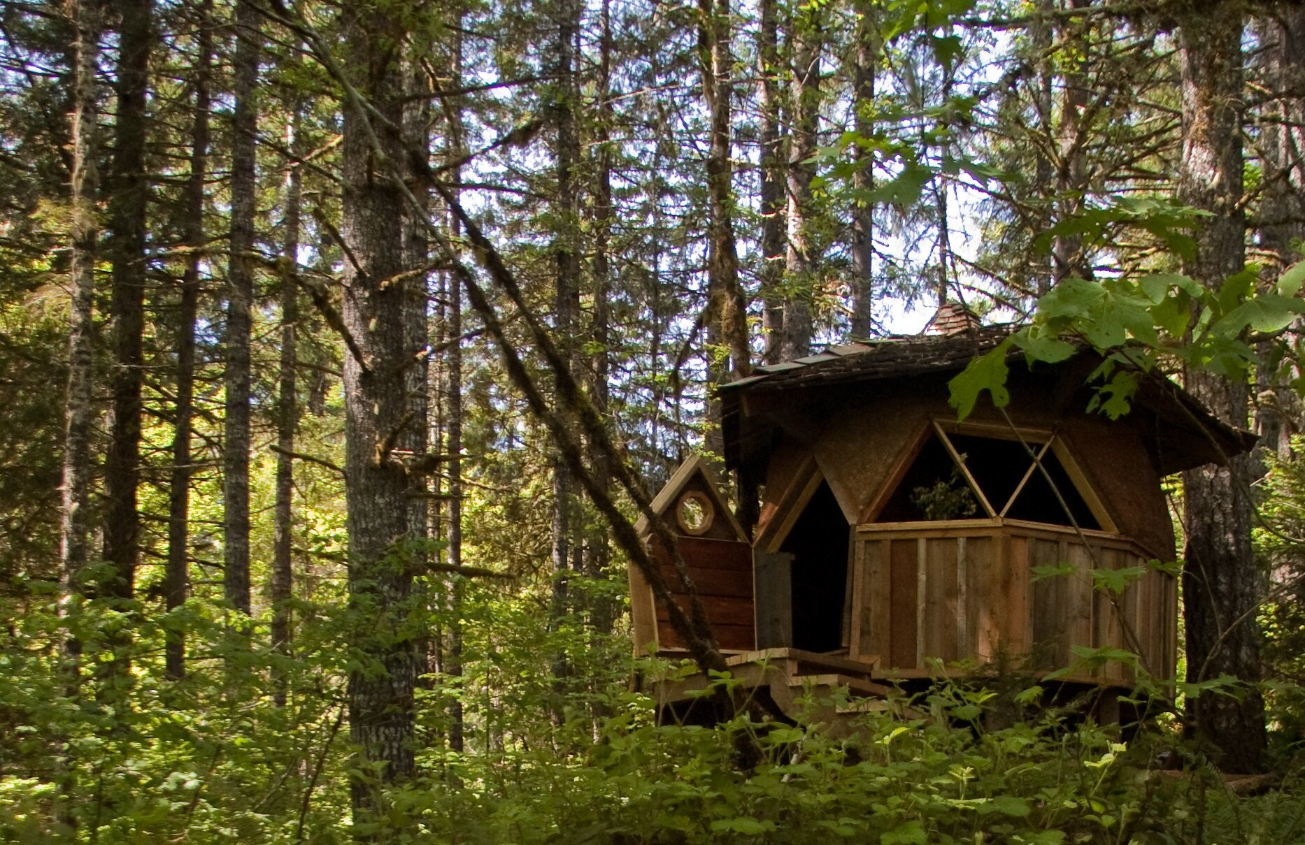 Jeffrey the Natural Builder Tiny Dome Home