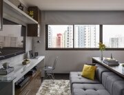 BEP Architects Small Apartment Multifunctional Living Spaces