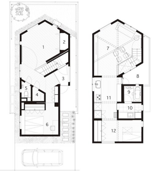 Small House Plans Japanese Idea Home And