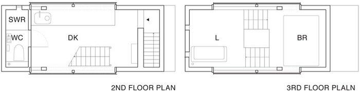 Yasutaka Yoshimura Architects - Window House - Japan - Floor Plan - Humble Homes