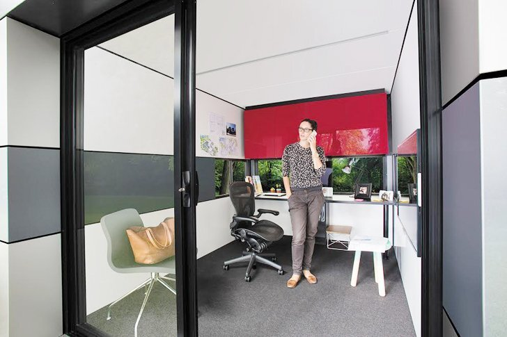 Harwyn Pods by Jason Fremder - Melbourne Australia - Home Office - Humble Homes
