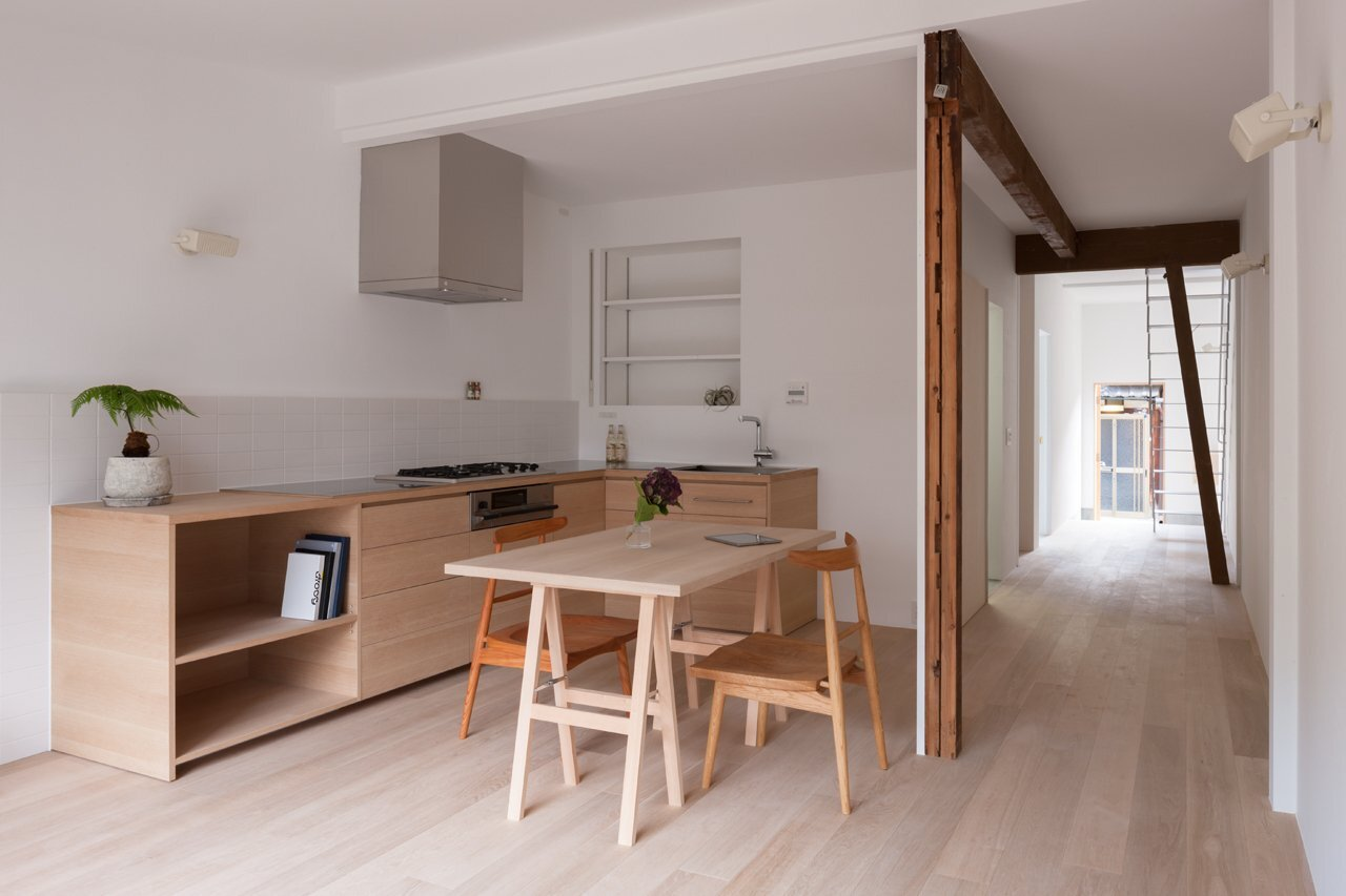 1920 39 s house restored into a modern home by shimpei oda