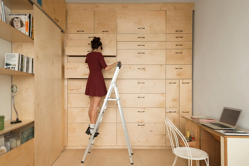 Multifunctional Studio by Raanan Stern - Storage 2 - Tel-Aviv - Humble Homes