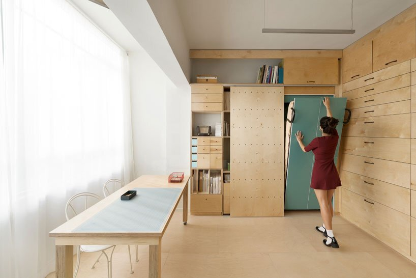 Multifunctional Studio by Raanan Stern - Tel-Aviv - Humble Homes