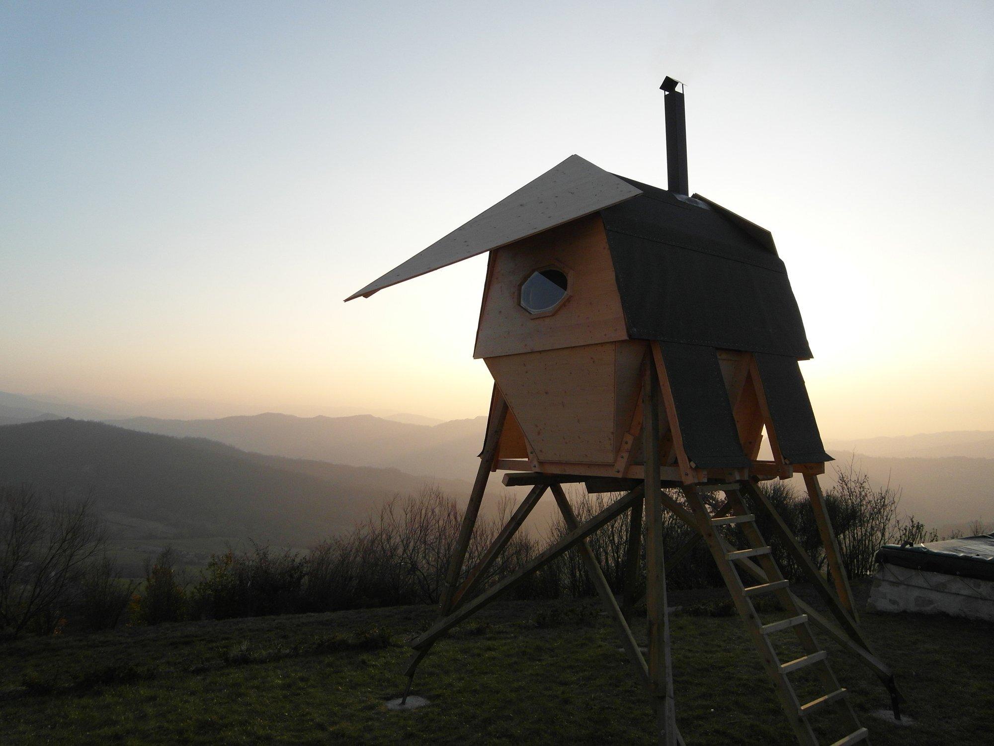 Sauna - Huginn & Muninn by Atelierforte Portada - Exterior - Humble Homes