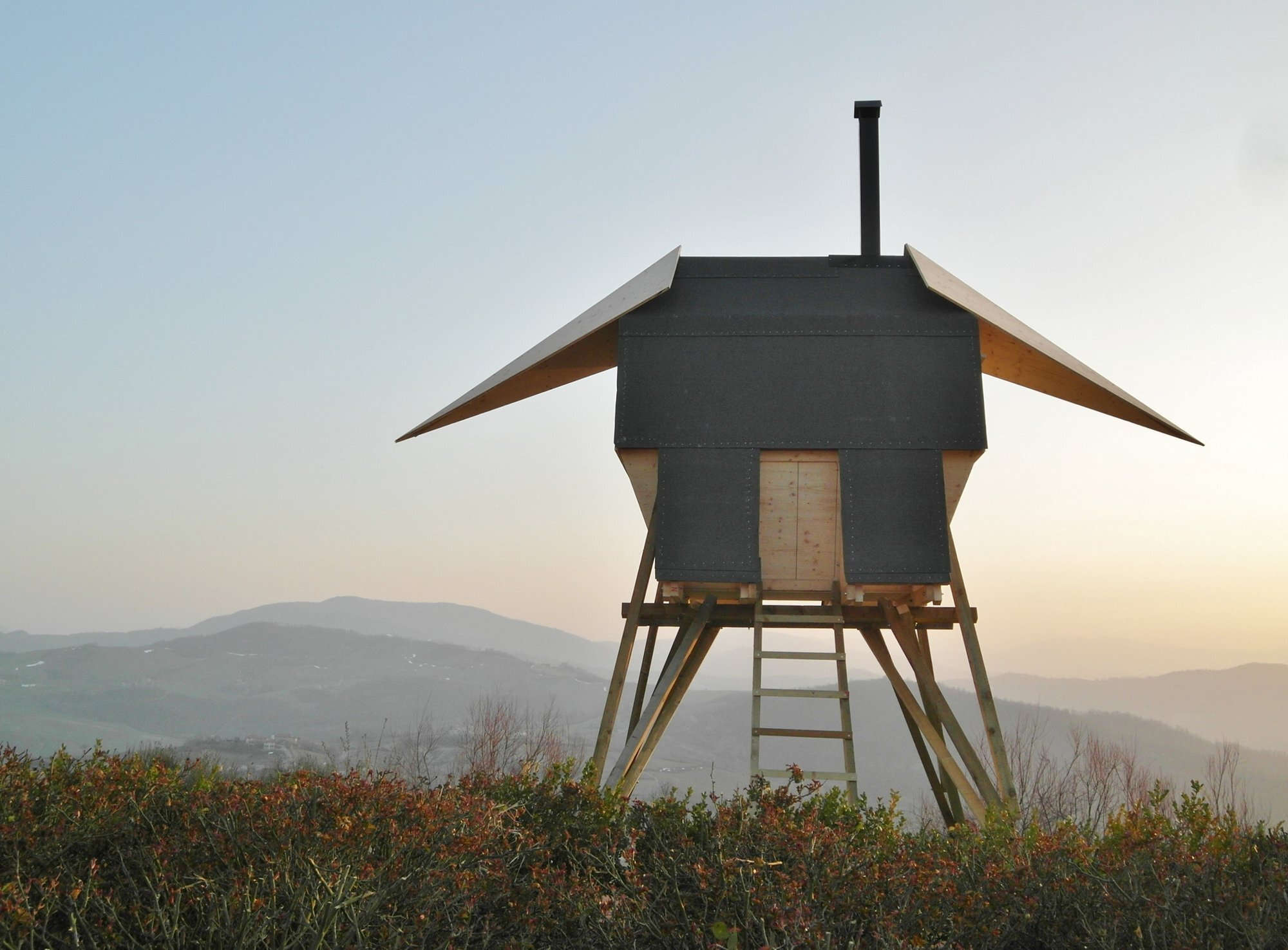 Sauna - Huginn & Muninn by Atelierforte Portada - Humble Homes