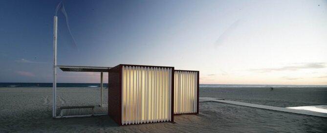 Beach Modules - Màrius Quintana Creus - Humble Homes