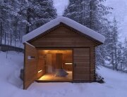 Jagdhaus Tamers - EM2 Architeckten - Italy - Small Mountain Cabin - Exterior 2 - Humble Homes