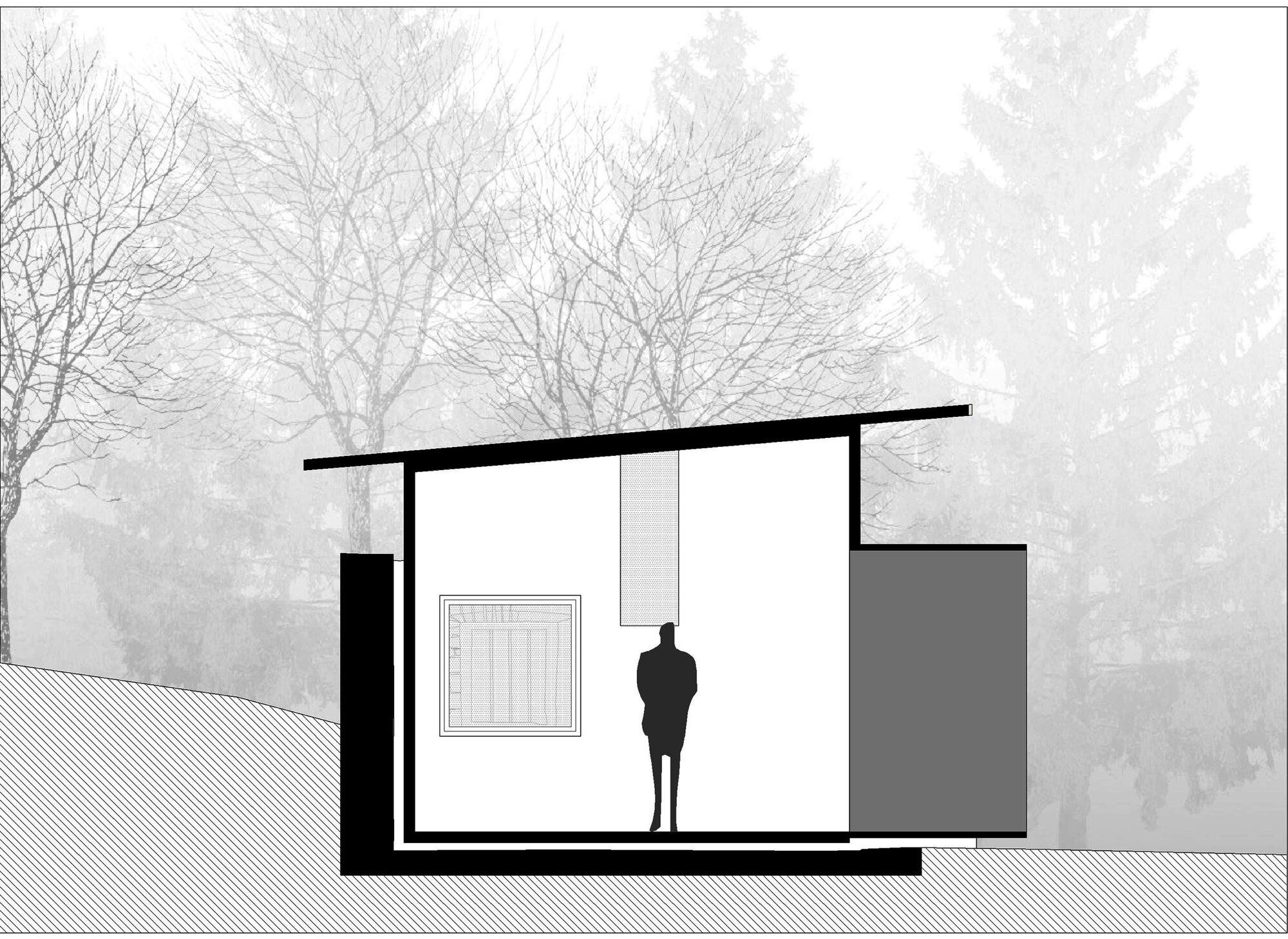 Little House on the House - Studio x Architettura - Cross Section - Humble Homes