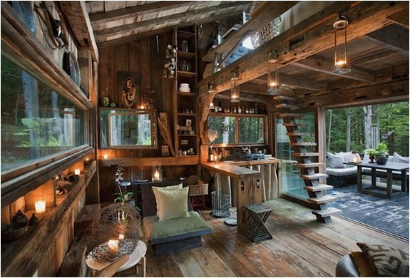 Scott Newkirks New York Cabin in the Woods
