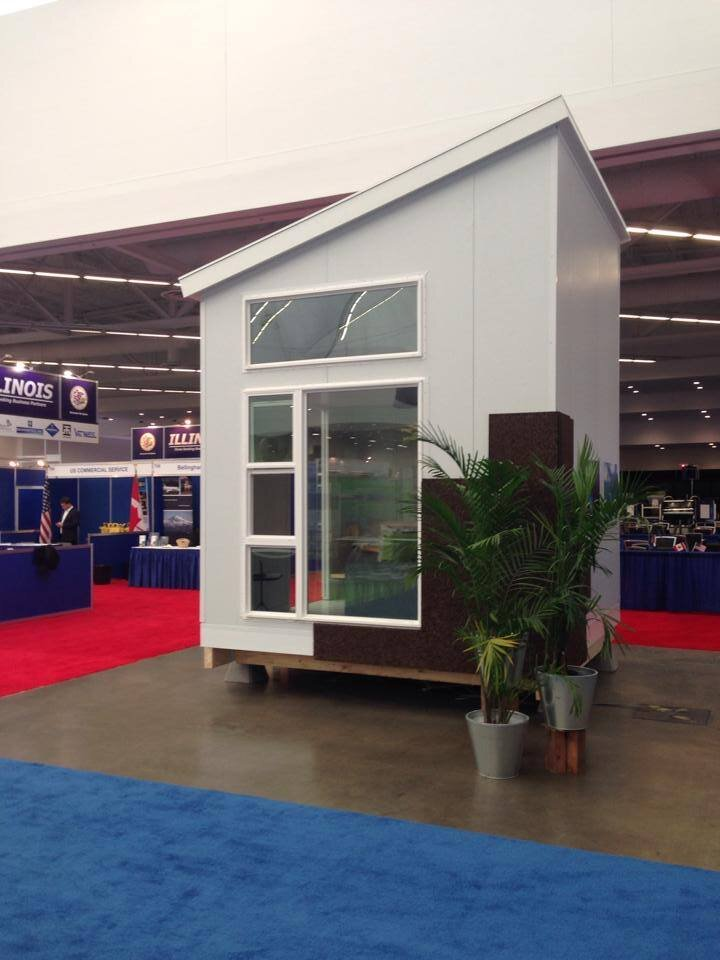 Nomad Micro Homes First Prototype Goes On Display
