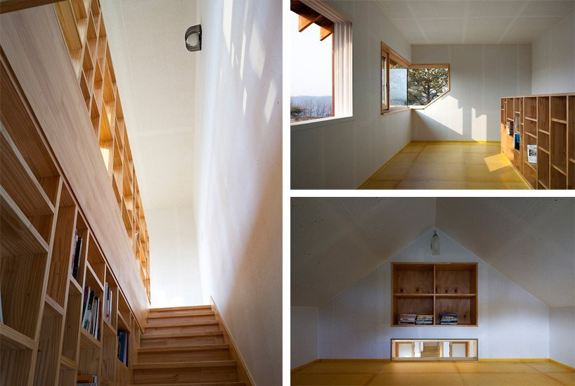 Studio Gaon - Small House in Yeoju - Family Reunions - Staircase - Humble Homes