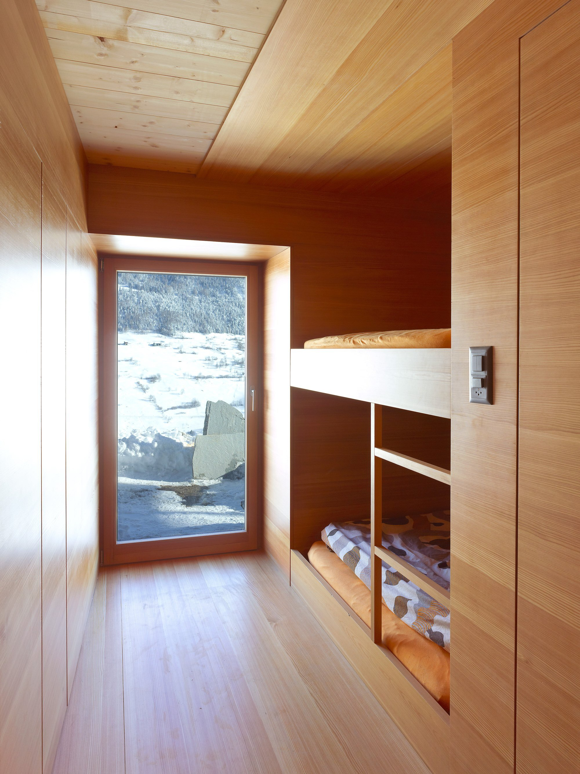 Boisset House in Switzerland by Savioz Fabrizzi Architectes - Bedroom - Humble Homes