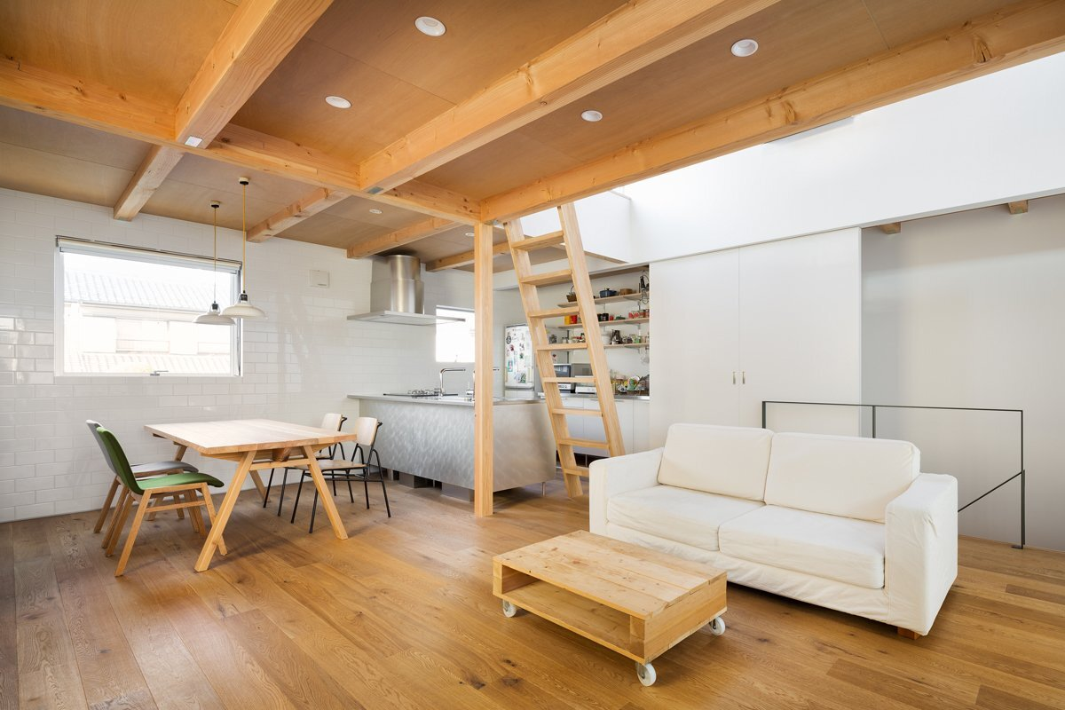 House in Chiba - Yuji Kimura Design - Small House - Japanese House - Inteior - Humble Homes