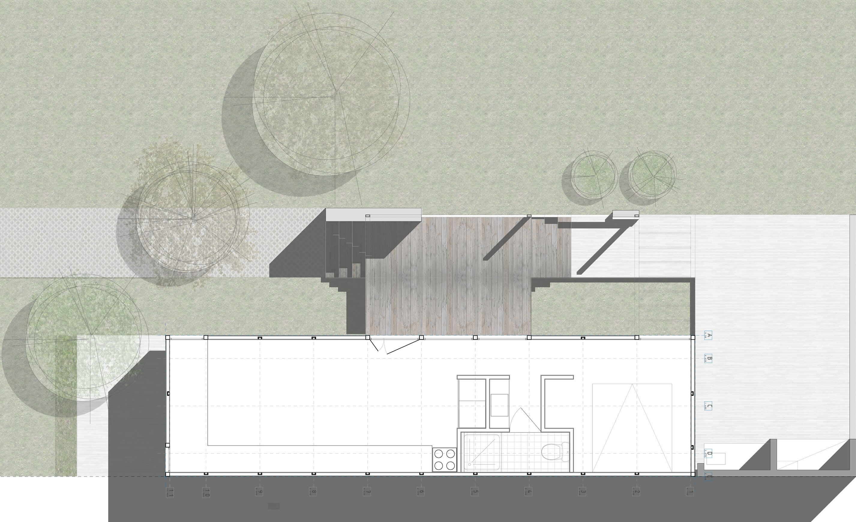 Mía House - Matias Pons Estel - Argentina - Small House - Floor Plan - Humble Homes