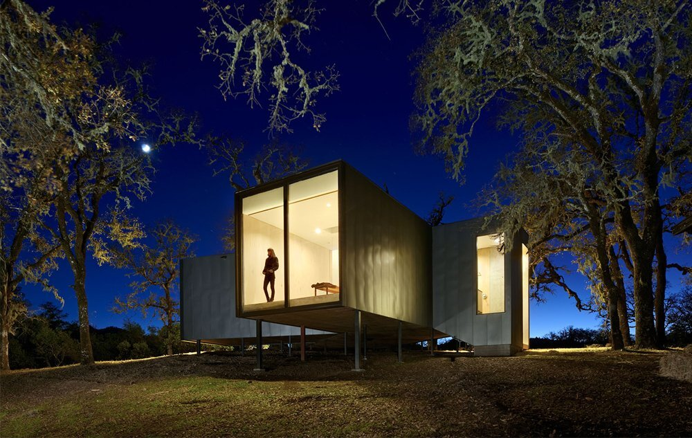 Moose Road Residence by Mork Ulnes Architects -  Ukiah Valley California - Affordable Housing - Exterior - Humble Homes