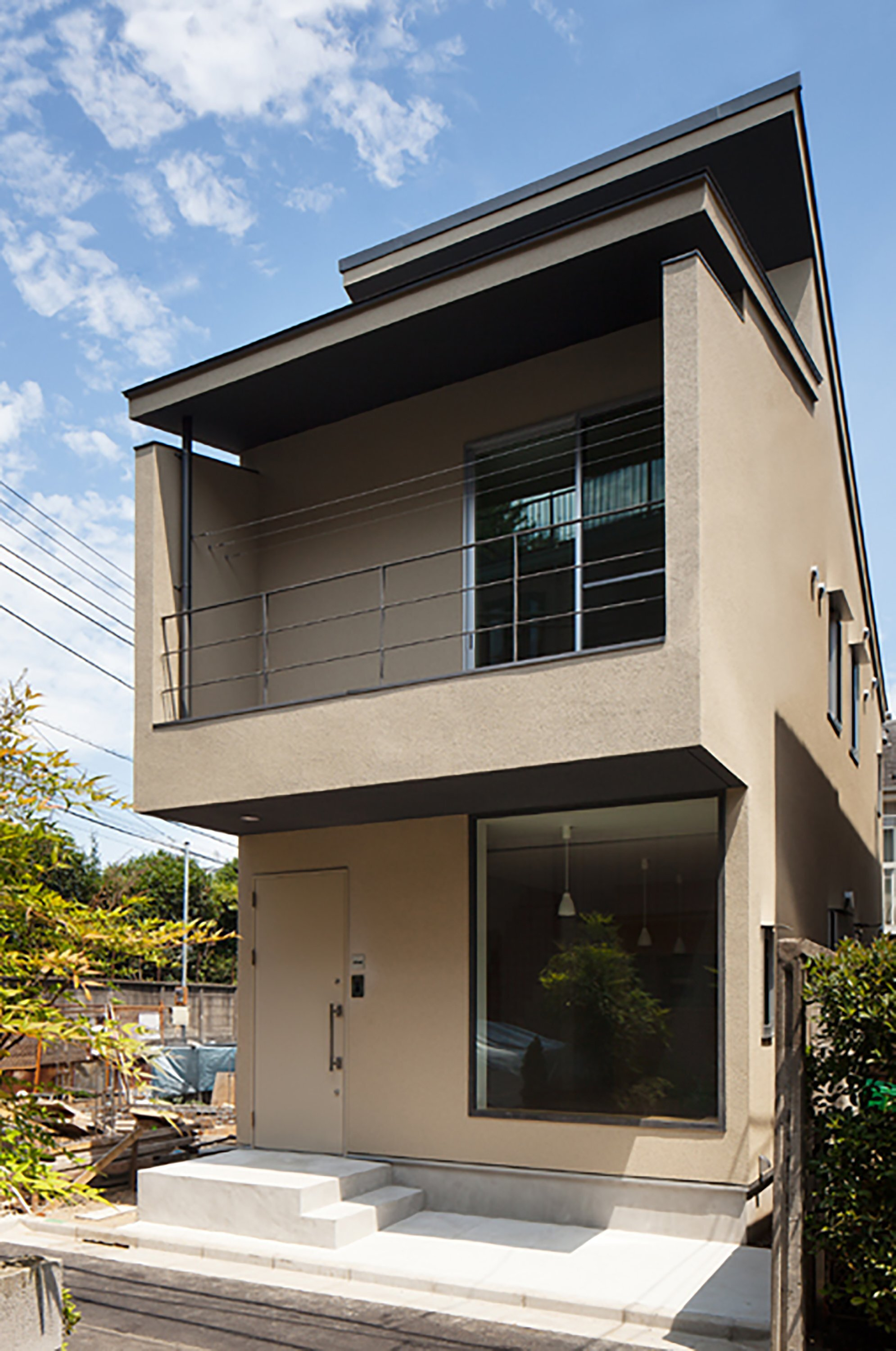 Nakano Fireproof Wooden House Masashi Ogihara Nakano Japan Small Japanese House Exterior Humble Homes - 13+ Modern Front Design Of House In Small Budget Gif