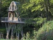 Treehouse Solling by Baumraum - Uslar Germany - Treehouse - Exterior - Humble Homes