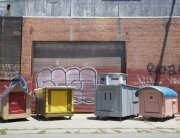 Gregory Kloehn - Recycled House 1 - Homeless Shelters - California - Humble Homes