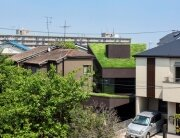 Makiko Tsukada Architects - Grass Cave House - Japan - Exterior - Humble Homes