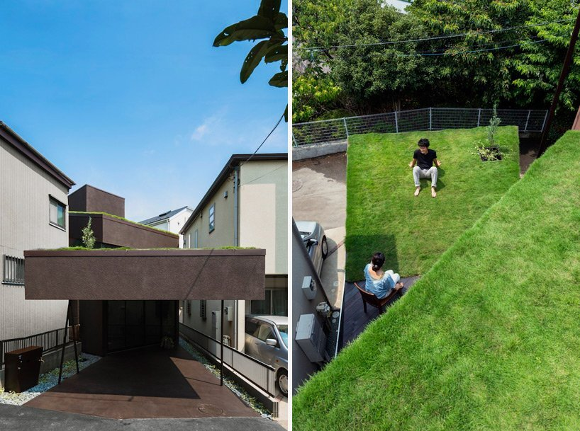 Makiko Tsukada Architects - Grass Cave House - Japan - Green Roof - Humble Homes
