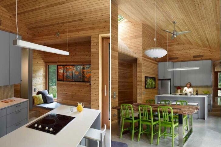 Stealth Cabin - Superkul - Ontario - Canada - Small House - Kitchen - Humble Homes