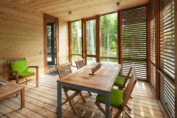 Stealth Cabin - Superkul - Ontario - Canada - Small House - Porch - Humble Homes