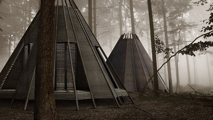 The Nook - Antony Gibbon Designs - Shelter - Raft - Exterior 2 - Humble Homes