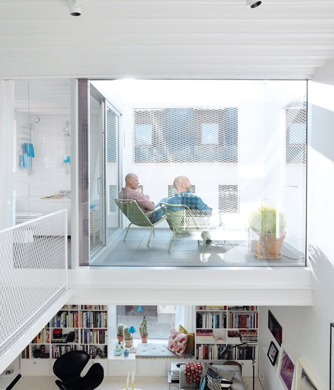 The Town House - Elding Oscarson - Johnny Lökaas - Conny Ahlgren - Landskrona, Sweden - Roof Terrace - Humble Homes