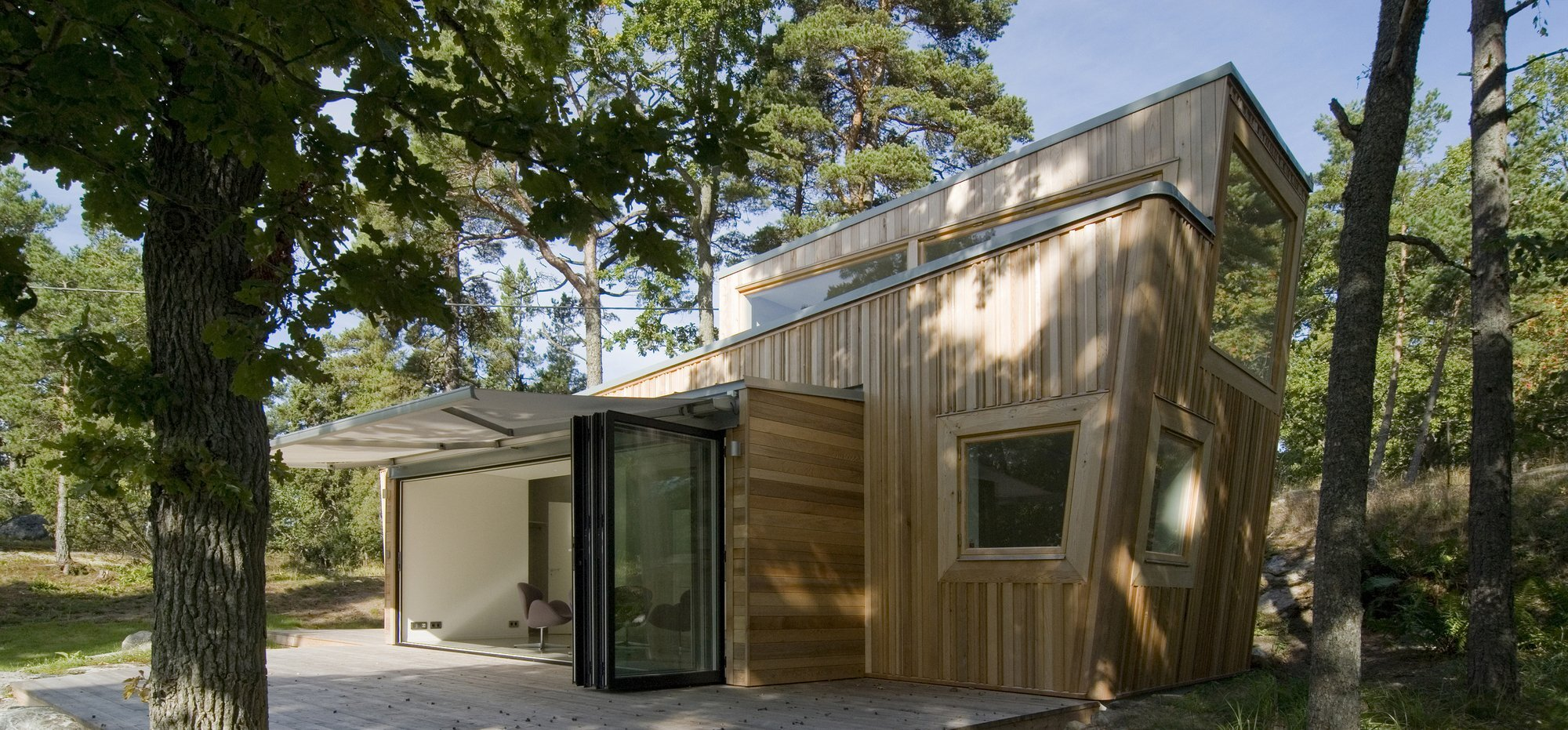 The Wood House - Schlyter + Gezelius Arkitektkontor - Small House - Sweden - Exterior - Humble Homes