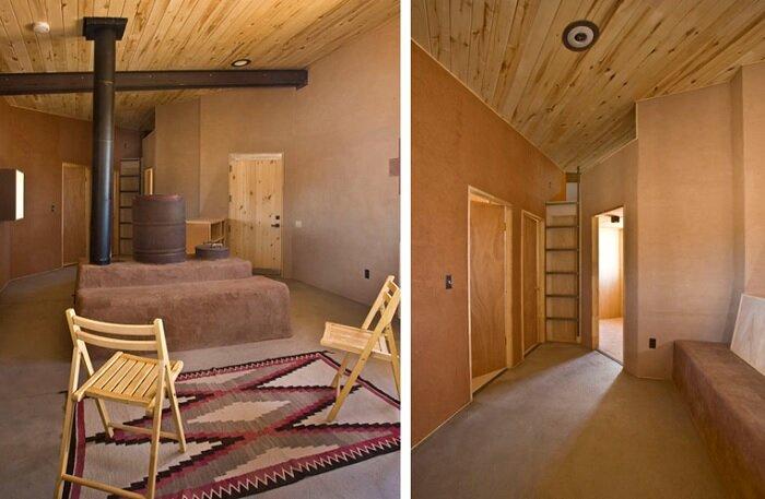 DesignBuildBLUFF Studio   Navajo Reservation   Suzie Whitehorse   Off Grid  House   Bedrooms U0026