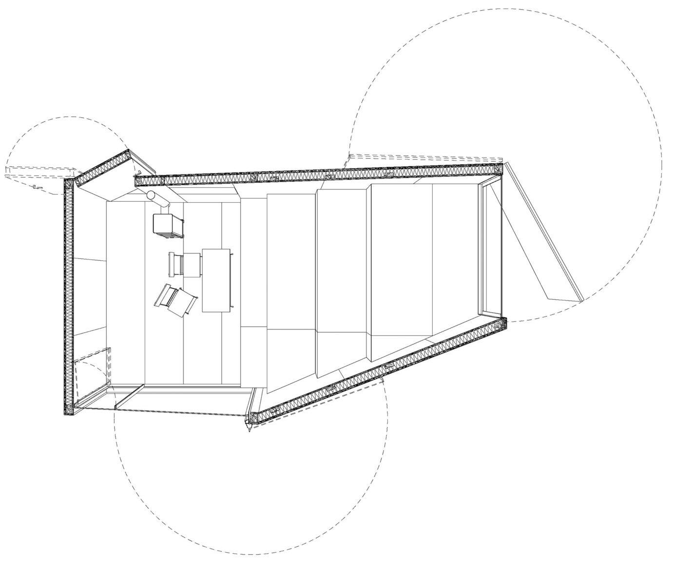 Forest Retreat - Uhlik architekti - Czech Republic - Floor Plan - Humble Homes