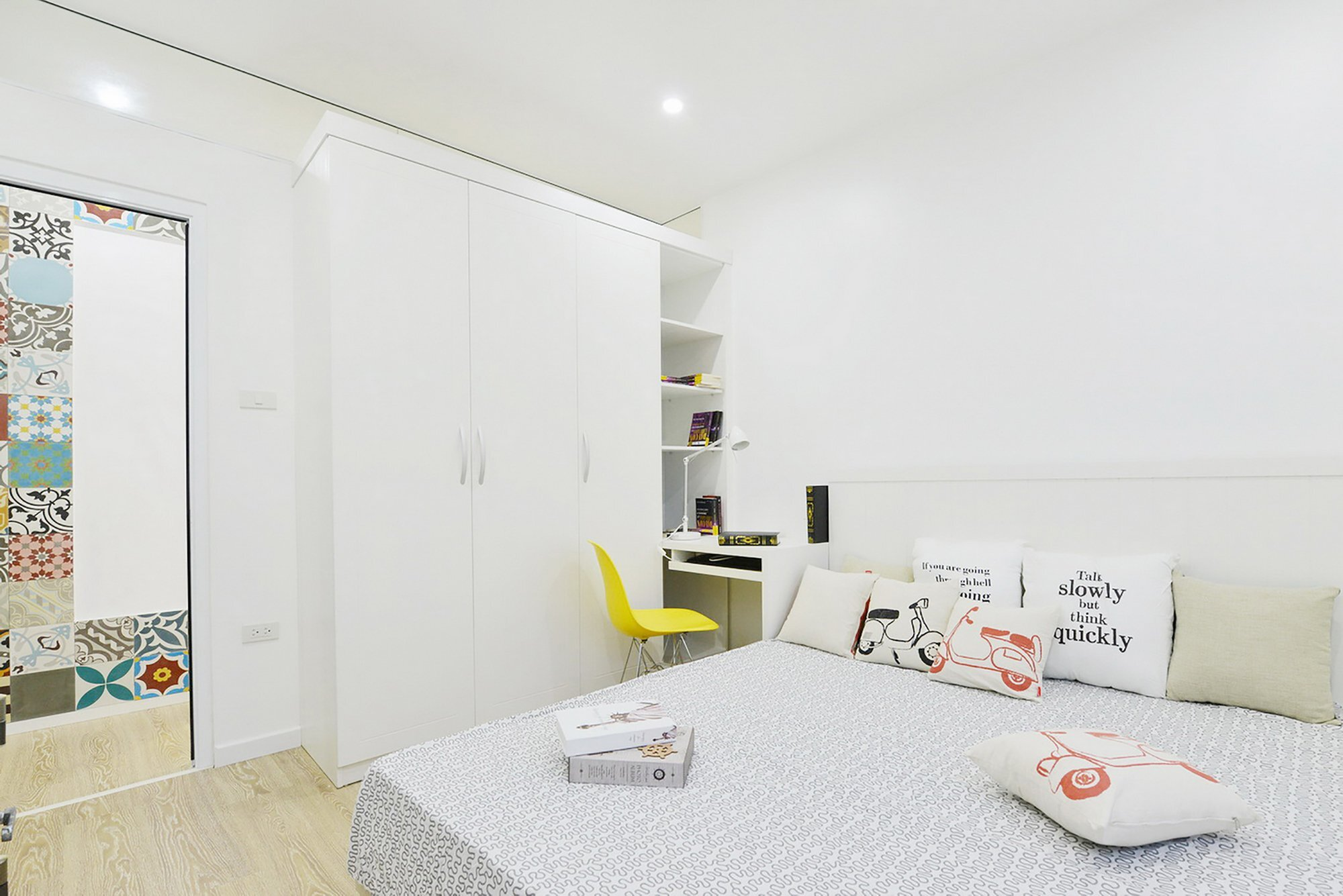 HT Apartment - Landmak Architect - Hanoi - Vietnam - Small Apartment - Bedroom - Humble Homes