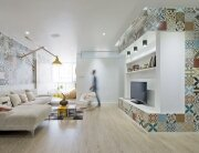 HT Apartment - Landmak Architect - Hanoi - Vietnam - Small Apartment - Living Room - Humble Homes