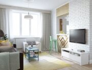 INT2architecture - Moscow - Russia - Small House - Living Room - Humble Homes