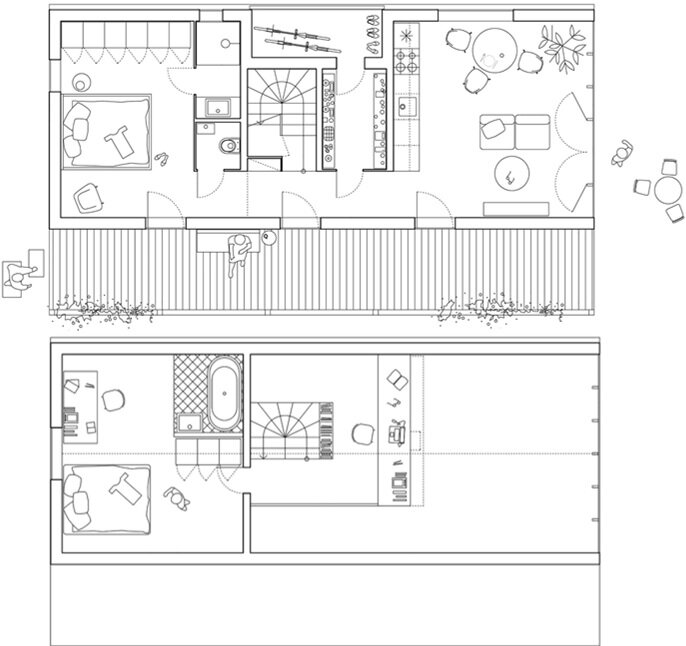 IST-Family House - JRKVC - Slovakia - Small House - Floor Plan - Humble Homes