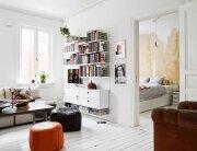 Small Apartment - Goteburg - Sweden - Stadhem - Living Room - Humble Homes