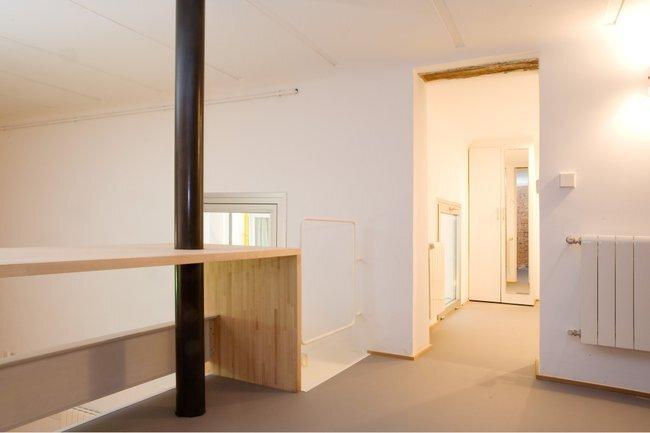 Beriot Bernardini Arquitectos - Small Apartment - Madrid - Loft Bedroom - Humble Homes