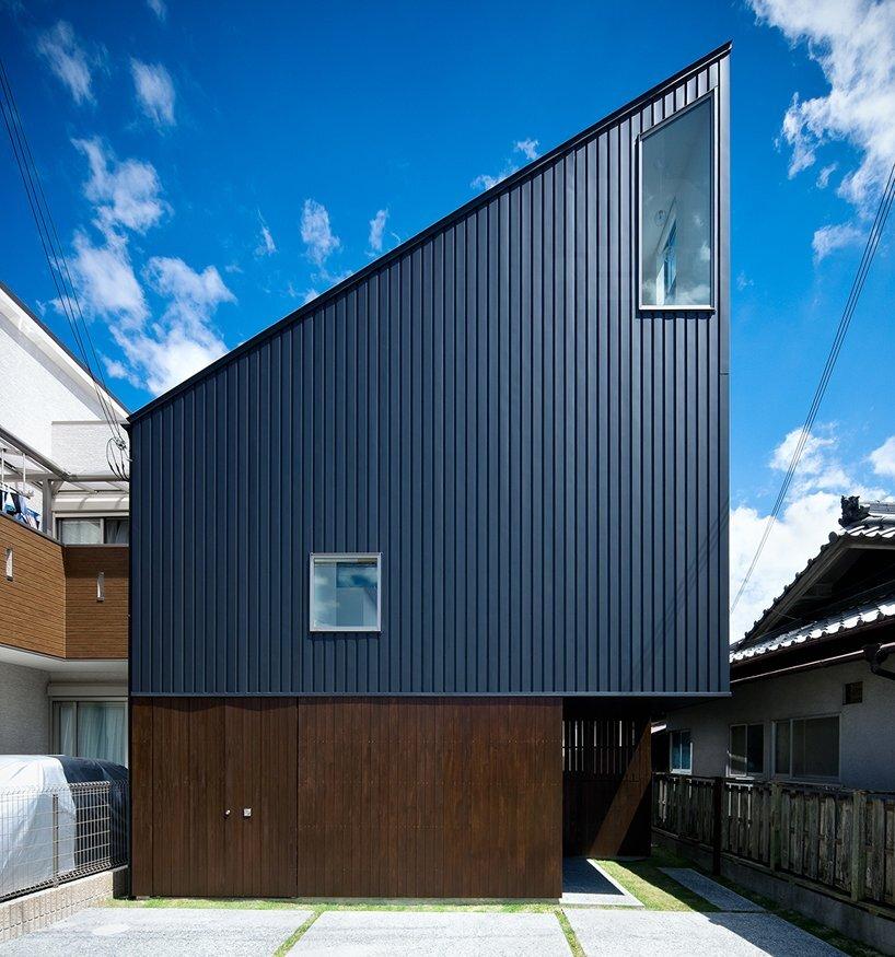 Hammock House - Small House - UZU Architects - Osaka Japan - Exterior - Humble Homes
