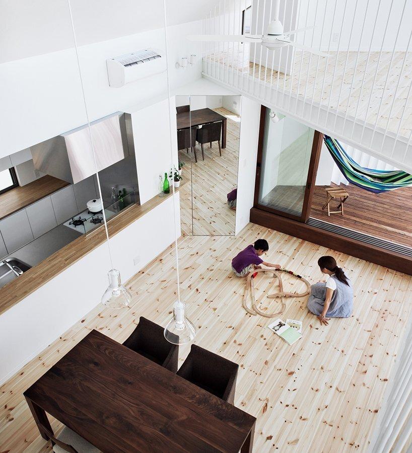 Hammock House - Small House - UZU Architects - Osaka Japan - Living Area - Humble Homes