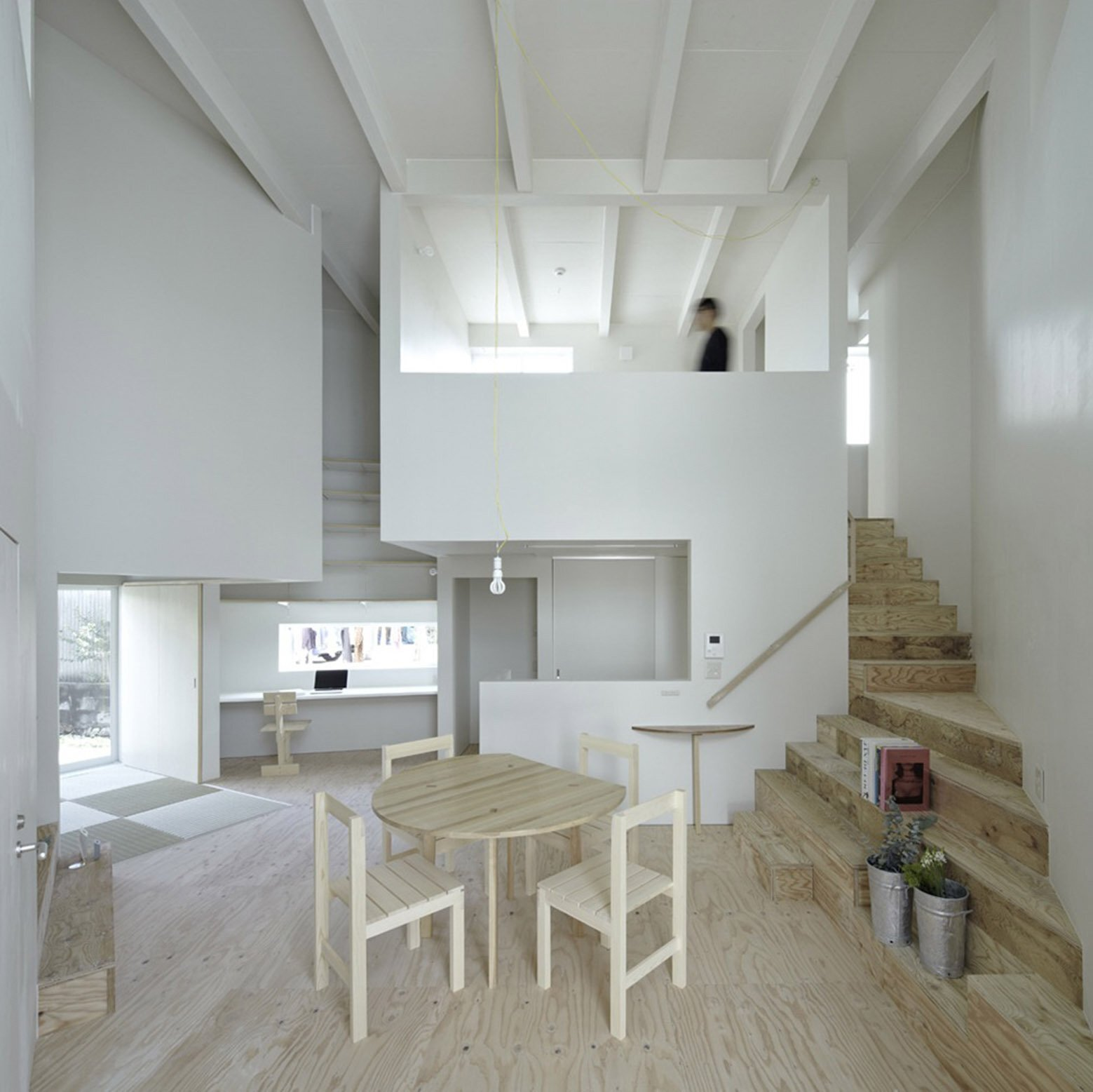 House In Iizuka - Japanese House - Rhythmdesign - Living Area - Humble Homes